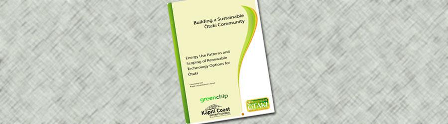 Greenchip report on Ōtaki