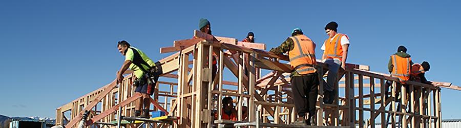Builder training at Otaki