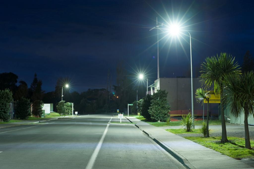 Otaki's LED street lights