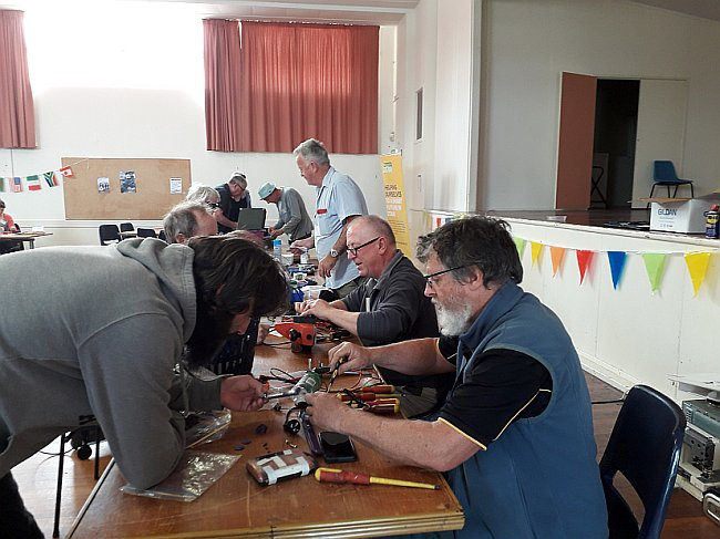 Ōtaki Repair Café: 15th Nov 2020 – Another successful repair day for the Otaki Community