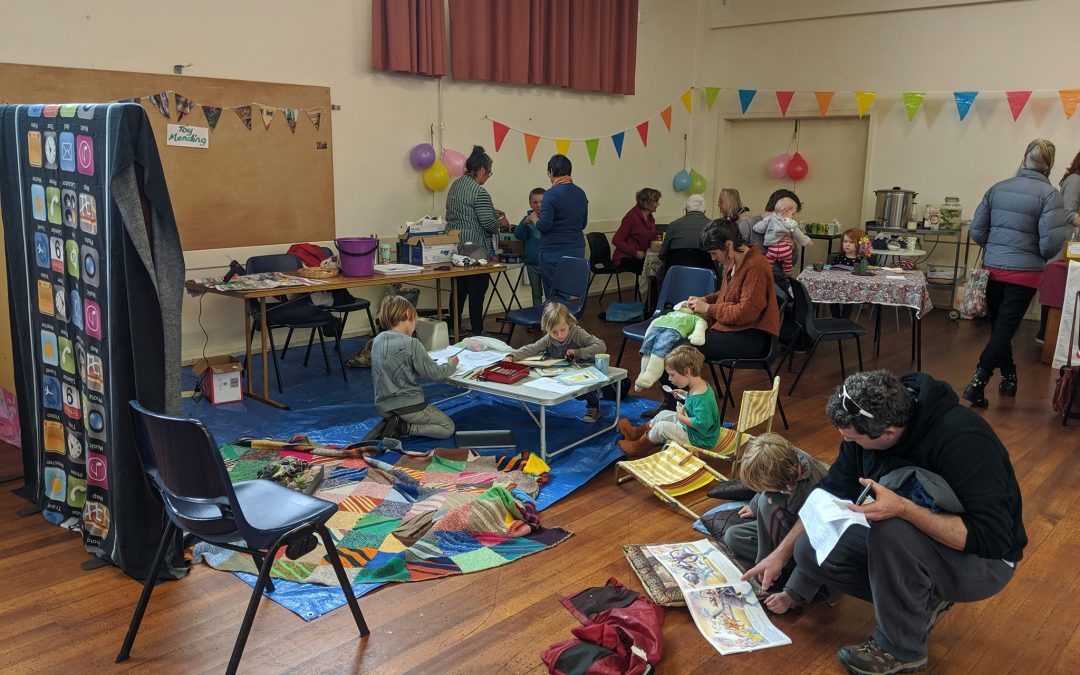 Fixing what is broken: busy Repair Cafe