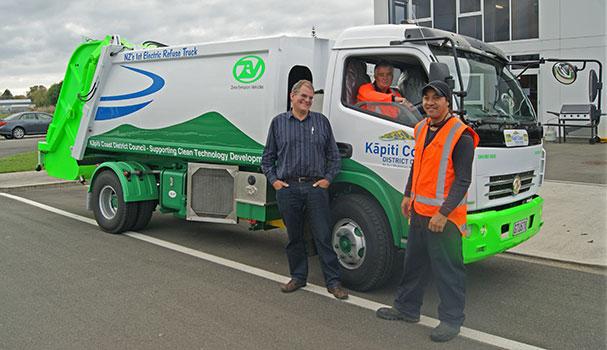 ZEV Battery Rubbish Truck