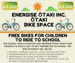 Free Bikes for Children to Ride to School