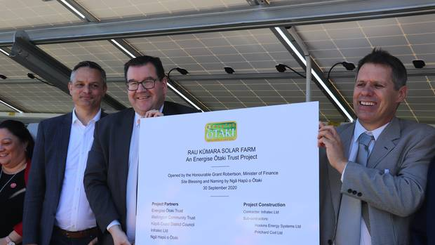 Solar Farm officially opened
