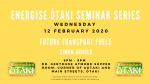 Energise Ōtaki Inc. Seminar Series: Future Transport Fuels