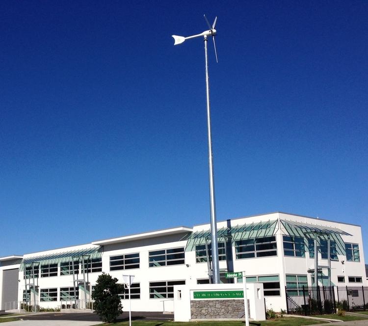 Ōtaki Central Technology Park: Wind and Solar Energy